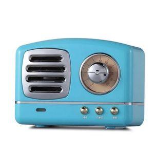 Portable Speaker Bluetooth Speaker Mini Retro Wireless Speakers Radio USB TF Card Music Player HIFI Subwoofer Bluetooth 4.1