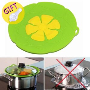 Silicone lid Spill Stopper Cover For Pot Pan Kitchen Accessories Cooking Tools Flower Cookware Home Kitchen Accessories Gadgets