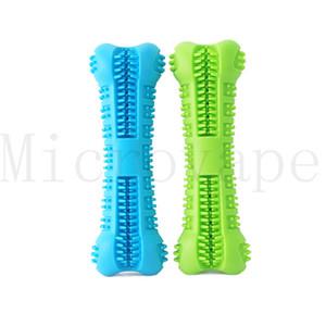 Hundezahnbürste Toy Brushing Stick Pet Backenzahnbürste für Hundewelpenzahn Gesundheitswesen Zahnreinigung Kauspielzeugbürste