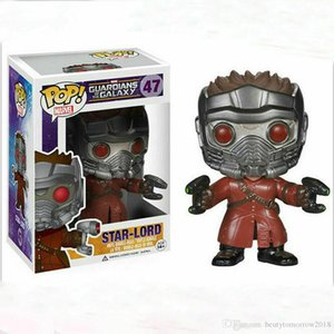 China New Funko POP Star-Lord #47 Vinyl Action Figure Collection Boy Toys