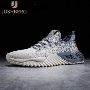 JOSHBERG High Quality Fashion Men Casual Shoes Soft Mens Shoes Street Style Men Tenis Masculino Esportivo