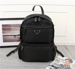 Yeni klasik moda retro tarzı lüks tuval deri sırt çantası tasarımcı en kaliteli sırt çantası 025 boyutu 40 cm 29 cm 17 cm