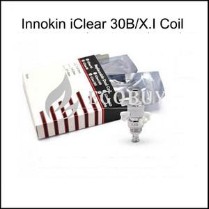 100% замена Оригинал innokin катушки iclear 30b X.I iclear30B катушки Head для iclear 30b X.I НМТ распылительного испарителя Tank