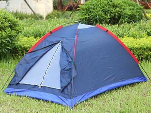 Yürüyüş Seyahat etmek IS0348 için Carry Bag İki Kişi Çadır Açık Kamp Çadırı Takımı Fiberglas Kutup Su Direnci