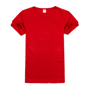 19ss Malha de Velocidade Seco Rodada Collar Manga Curta Mens Designer T-shirt Absorção de Umidade e Suor Suor Correndo T-shirt