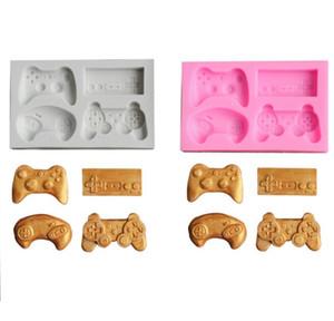 Çikolata DIY Mutfak nnd için Oyun Kontrolörü Kalıp Silikon El yapımı kek Şeker Kalıplar Video Oyunu Kontrolör Kalıp Gamepad Fondant Kalıp