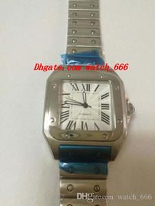 De lujo del reloj del reloj Galbee XL hombres de acero de 45,54 mm x 34,87 mm automática del reloj para hombre mira el envío libre