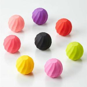 160 X New Ball shape empty lip balm container cosmetics 7g lip gloss holder cream jars DIY Eye Gloss Cream Sample Case Wholesale