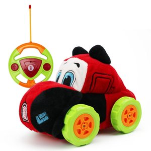Remote Control Stunt Car Plush Toy Off-road Vehicle Anti-collision Shatter-resistant Waterproof Washable RC Toy Car Dropshipping
