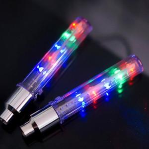 Firefly nueva habló válvula de la rueda LED de la lámpara de la batería Interruptor luces intermitentes de alquiler de motos bicicleta de montaña Safey advertir accessaries de luz