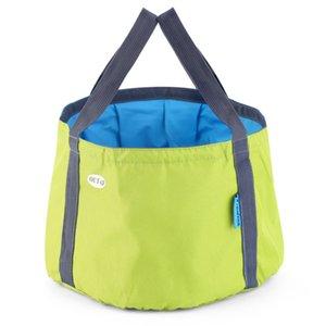 10L Portable Outdoor Travel Foldable Folding Camping Washbasin Basin Bucket Bowl Sink Washing Bag Water bucket new arrival