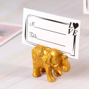 حاملي بطاقة مكان الفيل صور زفاف لصالح حفل زفاف عيد ميلاد الطفل دش هدية