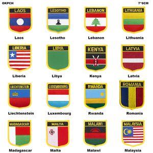 REINO UNIDO Reino Unido Jack Bandeira Patch Jacket Roupas Jeans Patches Bordado Ferro no País Bandeira Emblema Bandeira Mochila Emblemas