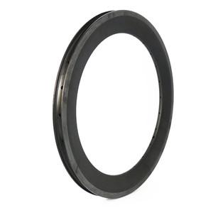 Full Carbon 20'' BMX Rims UD 3K 12K Glossy Matt Surface Basalt Brake 20-36 Holes 50mm Clincher Rims Child Bike Folding Bike Wheels