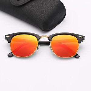 Designer Sunglasses Brand Fashion Sunglasses Eyeware Mens Des Lunettes De Soleil Woman Popular Black Frame Pink Mirror Sun Glasses Lenses