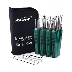 32pcs KLOM отмычки Tool Улучшенный замок Выберите Set слесарные инструменты