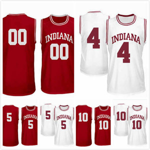 Rob Phinisee Jersey 10 Evan Fitzner Jersey 55 Rennen Thompson 25 Jake Forrester 4 Quentin Taylor 5 Indiana Hoosiers 2019 Trikots S-3XL
