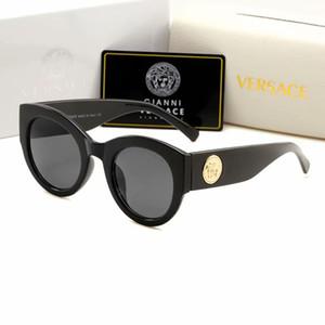 2019 Nova Moda itália marca 4353 óculos de sol top Designer óculos de proteção dos homens de compras outdor óculos de sol óculos de sol Do Vintage de condução