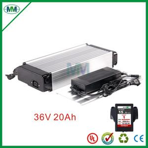 UE US impôts Pas vélo électrique batterie 36V 20Ah arrière Type Rack avec 2A Chargeur, au lithium-ion batterie 36V