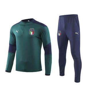 2020 رياضية لكرة القدم المنتخب الوطني 19 20 انجلترا KANE التدريب sleever طويلة دعوى FFF 2 نجمة MBAPPE Survetement إيطاليا لكرة القدم الزي الرسمي