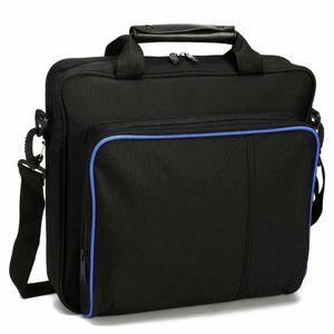 사례 원래 크기 PS4 Pro 슬림 게임 Sytem Bag for PlayStation 4 콘솔 보호 가방 PS4 핸드백 캔버스 어깨 톤 TXonn