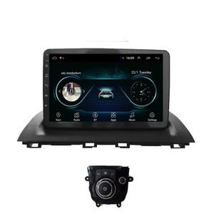 voiture Android GPS avec un excellent lecteur multimédia caméra frontale carte sans microphone Bluetooth pour une livraison rapide Mazda 3 9inch
