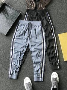De gran tamaño de los pantalones M-3XL Hombres Mujeres marca de diseño pantalones para hombre primavera deporte mujeres Pantalones deportivos del basculador impresa letra Pantalones 2041501H Longitud YY