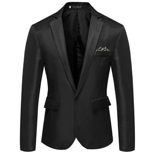 Men Suit jackets plus size M-4XL black navy pink Brand new wedding suits Polyester mens blazer