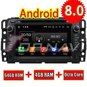 Topnavi 7 Android 8 .0 Lecteur DVD Multimédia voiture vidéo pour Gmc Yukon / Tahoe 2007 -2012 Auto Navigation GPS Stéréo Radio 2 Din Mp3
