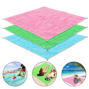 Beach Blanket Waterproof Portable Sand-free Camping Mat Foldable Mattress Pad For Outdoor Picnic Camping