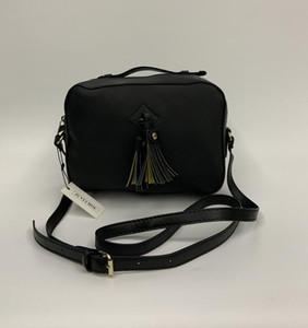 Mulheres de couro Soho Bag Disco Shoulder Bag Bolsa Small Square Camera Bag 1818