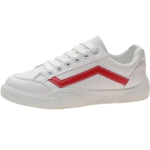 Веб-знаменитости спортивные маленькие белые туфли Женские ins2019 весенний стиль популярен и универсален маленький грязный оранжевый холст мокрая обувь порт ветер