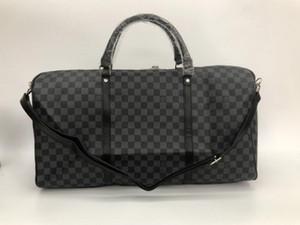 bolsa de lona de moda bolsas de bolsas de viaje de los hombres femeninos gran capacidad de carry bolsa de viaje en el equipaje durante la noche de fin de semana con el bloqueo de número de serie