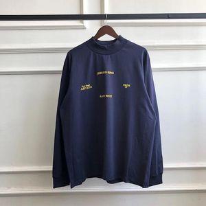 3D Printing Jesus Is King Long sleeve T-Shirt Men Women Hip Hop Spring Summer Kanye West Sunday Service Jesus Is King T Shirt T200318