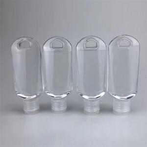 Anahtarlık Temizle Plastik Boş Losyonu Şişe Seyahat Kozmetik Depolama Konteynerleri 50ml 1 3MN A29 ile Pocket Alkol Jel El Temizleyici Şişeler