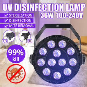 36W UV Sterilizing Lamp Quartz Germicidal Disinfection UVC Ozone Light Bulb Home LED Ultraviolet Sterilizer For Bedroom baby room Car