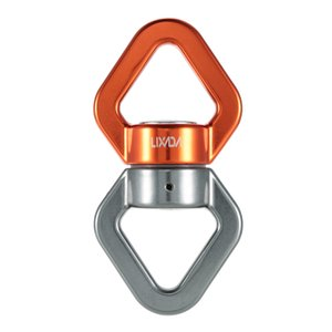 Lixada 30kN Rope Swivel Connector Sealed Bearing Rescue Climbing