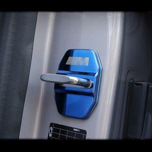 4pcs Car styling Cap Tampa Door Lock Proteção para BMW 1 2 3 4 5 7 Série X1 X2 X3 X4 X5 X6 F30 F10 F15 F16 F34 F07 F01 F15 Acessórios F16