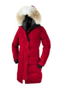 Stella all'ingrosso Stesso stile Designer donna Cappotti invernali Collare per capelli Decorazione Donna Cappotti con pelliccia Tasca Decorazione Moda Cappotto