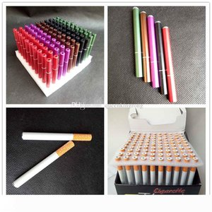 100 Pcs lot 78mm&55mm Cigarette Shape Smoking Pipes Mini Hand Tobacco Pipes Snuff tube Aluminum Ceramic Bat Accessories 4 Styles