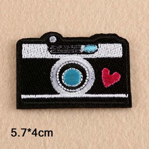 Camera Iron On Patch Embroidered Embroidery Patch