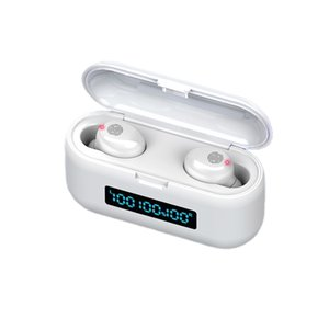 F9-38 Bluetooth Earphones TWS 5.0 Waterproof HD Stereo Wireless earbuds Noise Cancelling Gaming Headset LED Power display