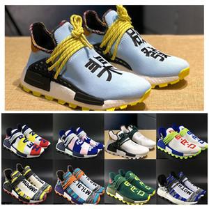 2019 Inspiration Solar Pack Running shoes 휴먼 Race Pharrell Williams 망 Womens Sport Sneakers BBC Solar Hu 글라이드 Chinese PW Trail