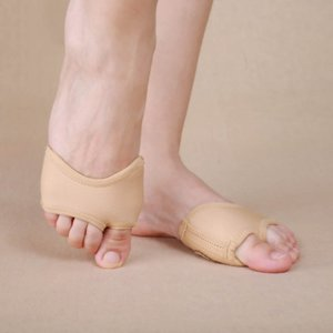 Women Thick Stoned Belly Ballet Dance Foot Pad Shoes Protection Toe Thongs Socks Half Covers Practice Dancing Accessories