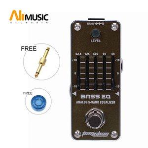 New AROMA AEB-3 BASS EQ 5-Band Bass Equalizer Mini Analog-Effekt True Bypass