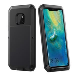 Marka Su Geçirmez Dropproof Dirtproof Darbeye Telefon Kılıfı için Huawei mate20 pro arkadaşı 20 Geri Metal Kapak
