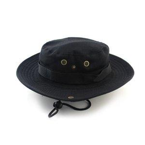Été Camo pêcheur Casual seau Camping Randonnée Voyage de pêche alpinisme sombrero parasol Bonnie Chapeau Pour Femmes Homme