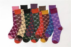 Мода весна Новых конфеты цвета Письмо ворс девушка носки Trend хлопок Stock 10 Цвет