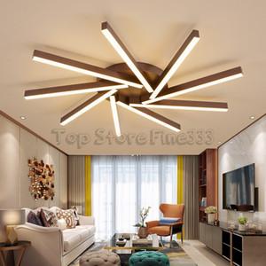 DHL Dropshipping LED Lustres Plafonniers Moderne Mode Pendentif Lampes Ventilateur Lame Conception Lumière Pour salon Hôtel
