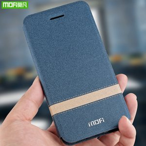 Cheap Flip Cases MOFi For Meizu 16X Case Cover Flip PU leather silicone Protective Luxury Cover For Meizu 16th Plus Phone Case